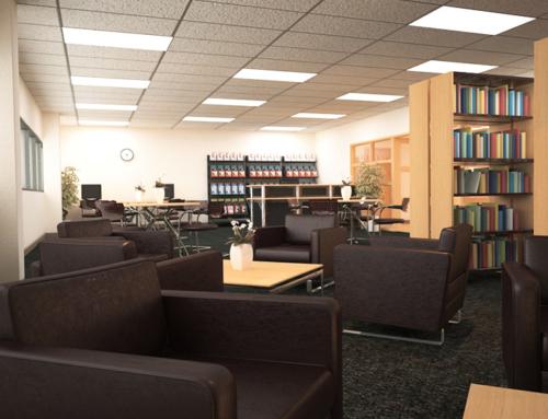 Universite de Hearst Library Concept