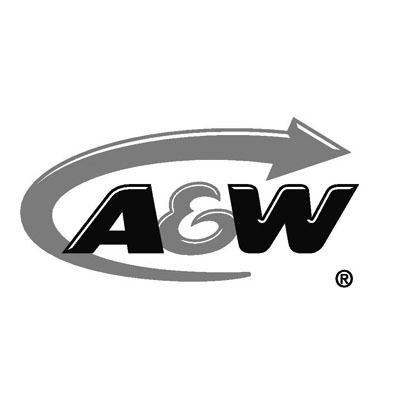 A&W Logo Black and White