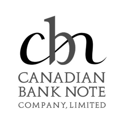 Canadian Bank Note Logo Black and White