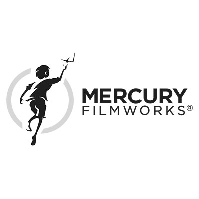 Mercury Filmworks Logo Black and White