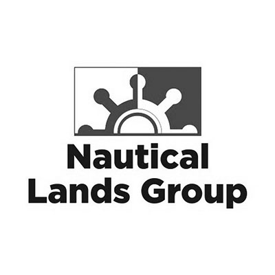 Nautical Lands Group Logo Black and White