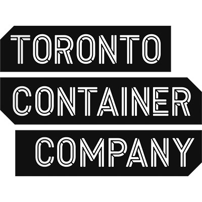 Toronto Container Company Logo Black and White