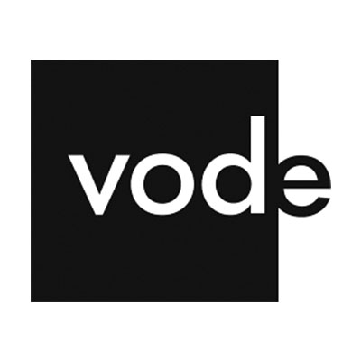 Vode Lighting Logo Black and White