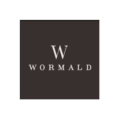 Wormald Logo Black and White